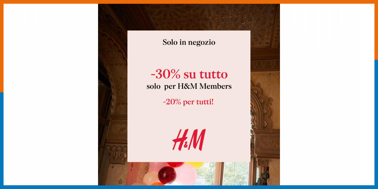 H&M - sconti