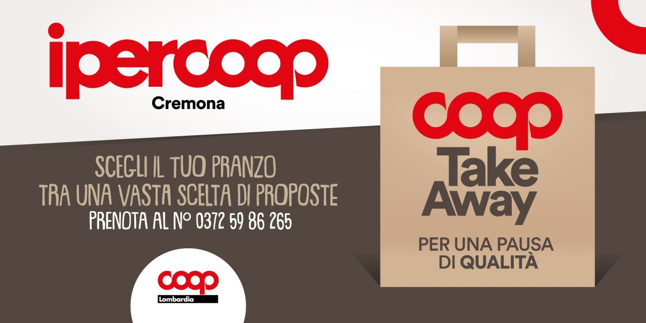 Take Away! | Promo | CremonaPo