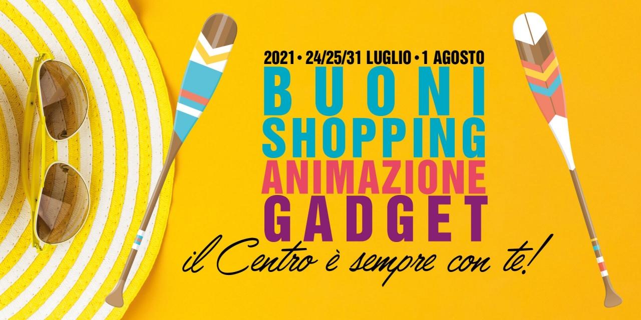 Buoni Shopping Animazione Gadget