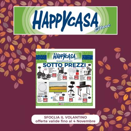 Offerta Volantino Happy Casa Store   CremonaPo