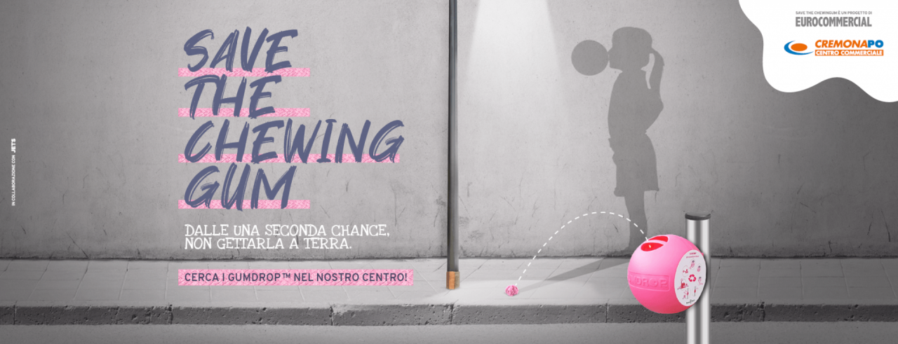 Save the Chewing gum | Eventi | CremonaPo