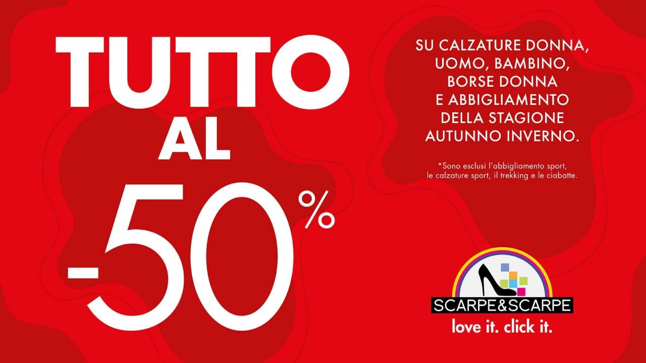 Tutto al 50% | Promo | CremonaPo
